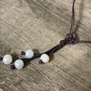 Seaside Pearl Multi Pearl Long Necklace